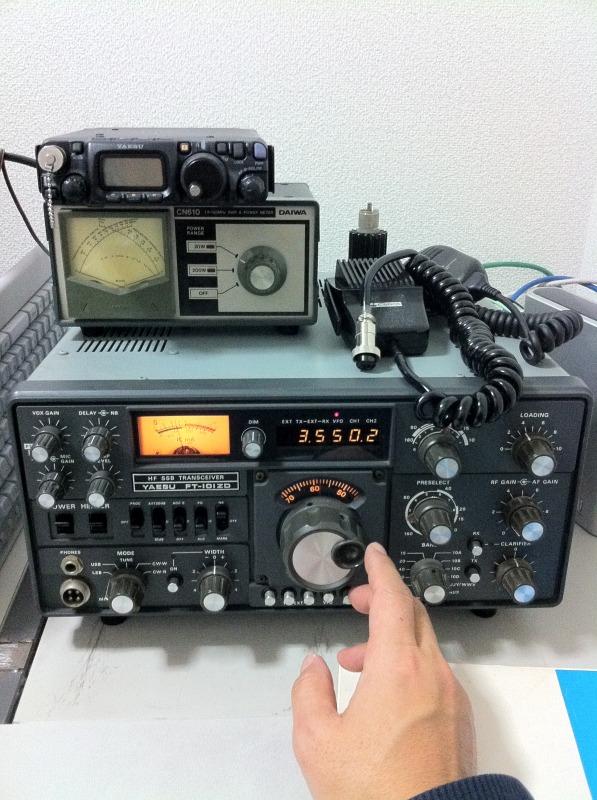 八重洲無線 YAESU FT-101ZD 前期モデル